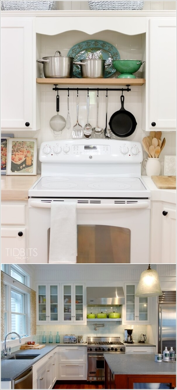 10 Unused Places In Your Kitchen To Hack For Storage 8