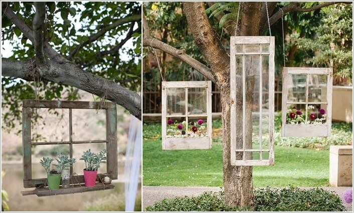 10 Wonderful Ideas To Decorate An Outdoor Tree 2