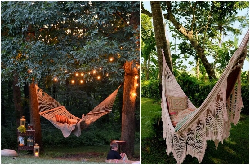 10 Wonderful Ideas To Decorate An Outdoor Tree 9