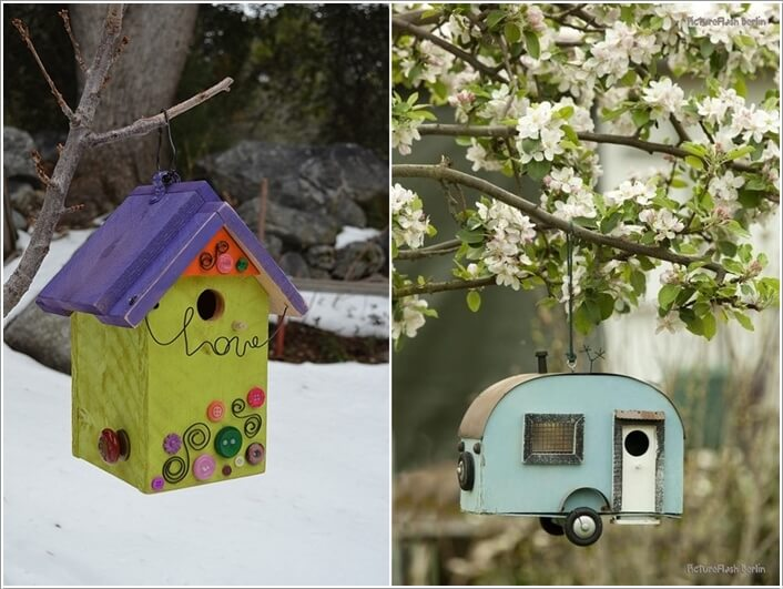 10 Wonderful Ideas to Decorate An Outdoor Tree 10