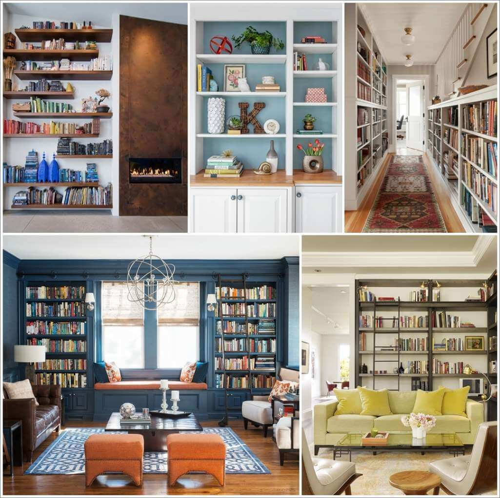 11 Creative Ways to Style a Bookcase 1