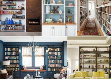 11 Creative Ways to Style a Bookcase fi