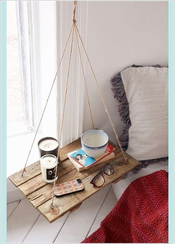 10 Cool Ways to Decorate with Suspended Shelves 4