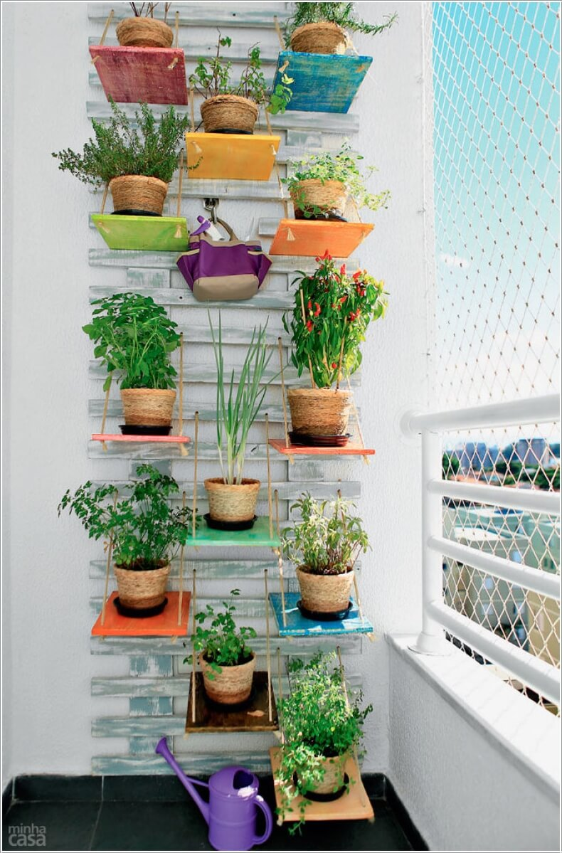 10 Cool Ways to Decorate with Suspended Shelves 1