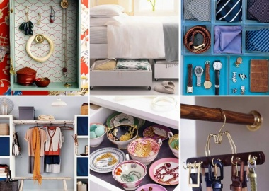 20 Clever Tricks to Organize Your Bedroom fi