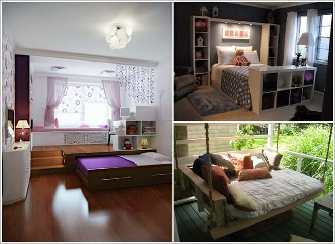 27 Clever Ways to Rethink A Bed 1