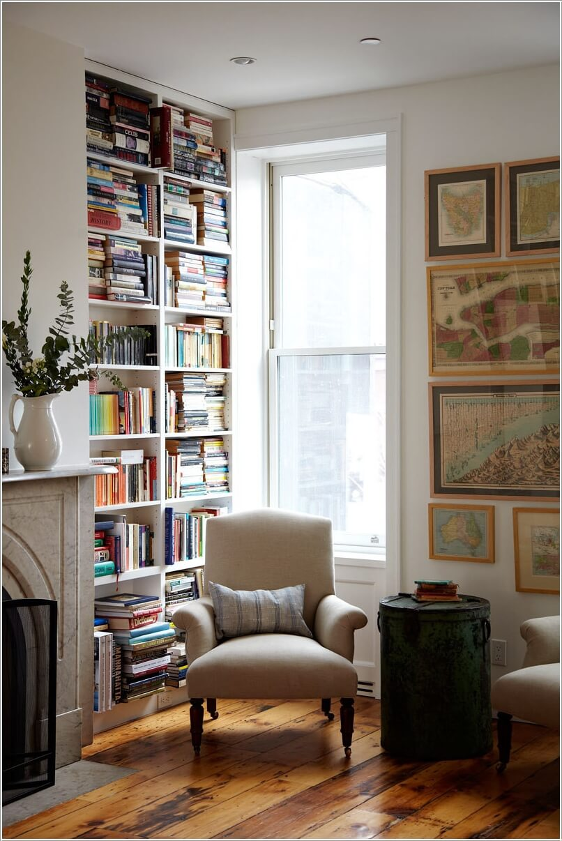 Ways to cozy up a reading nook for a comfortable reading time for Cozy reading room design ideas