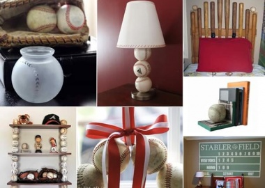 Here Are Some Awesome Baseball Inspired Home Decor Projects fi