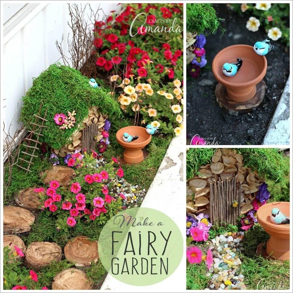 How To Start A Fairy Garden. How To Start A Fairy Garden E