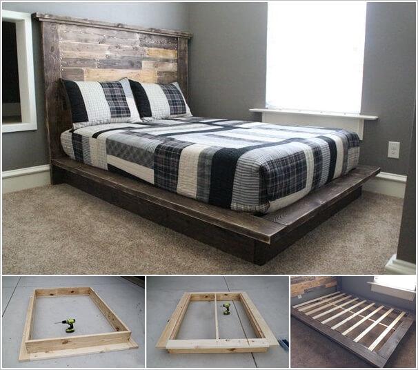 This DIY Platform Bed is Just Superb 1