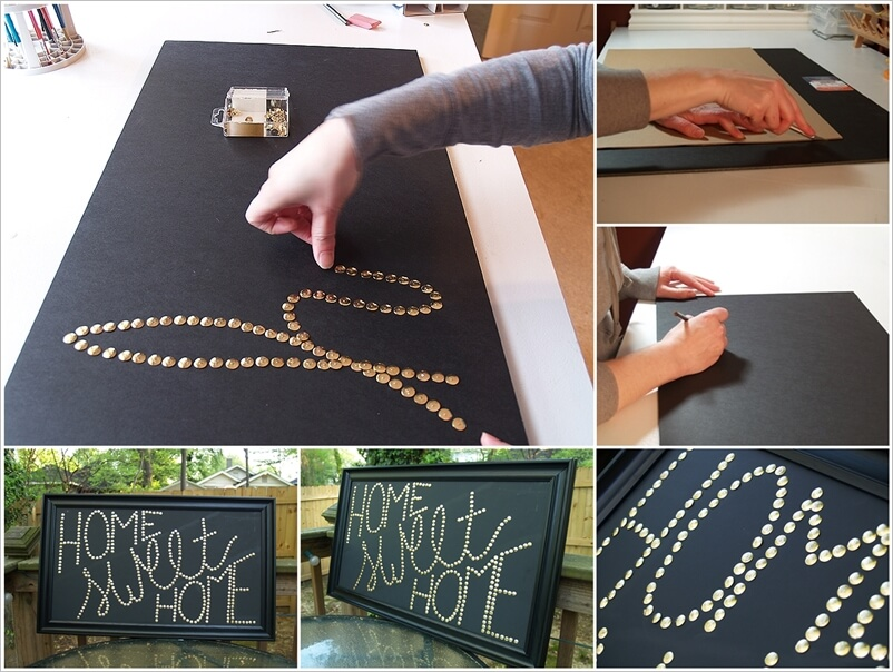 Try This Wonderful Push Pin Wall Art 1