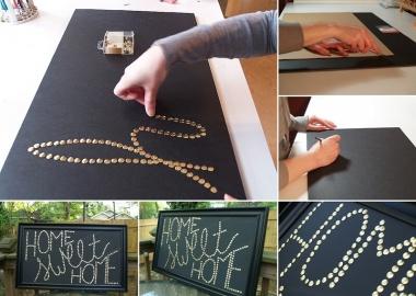 Try This Wonderful Push Pin Wall Art fi
