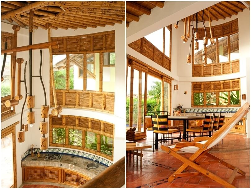 10 Amazing Bamboo Kitchens You Will Admire