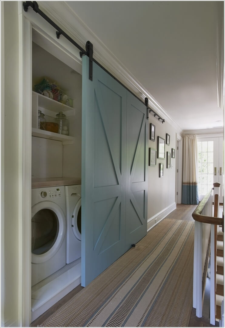 10 Awesome Ways to Decorate Your Home with Barn Doors 3