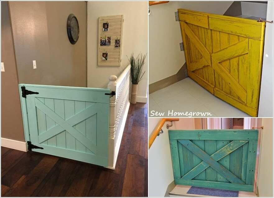 10 Awesome Ways to Decorate Your Home with Barn Doors 5