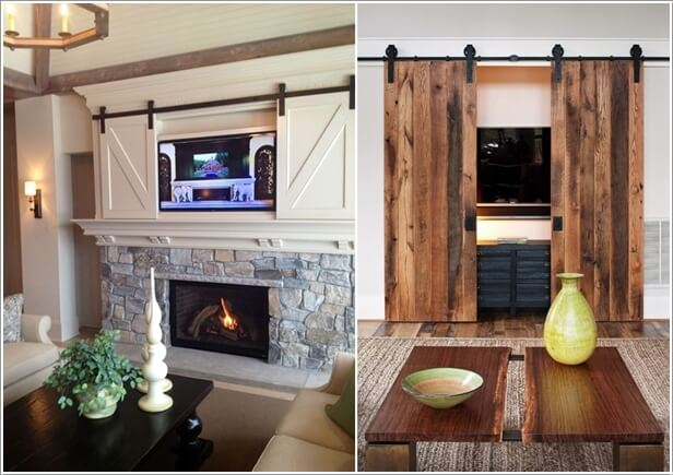 10 Awesome Ways to Decorate Your Home with Barn Doors 6