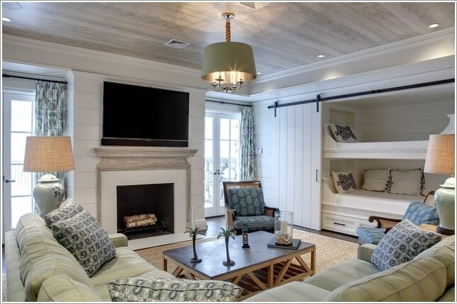 10 Awesome Ways to Decorate Your Home with Barn Doors 7
