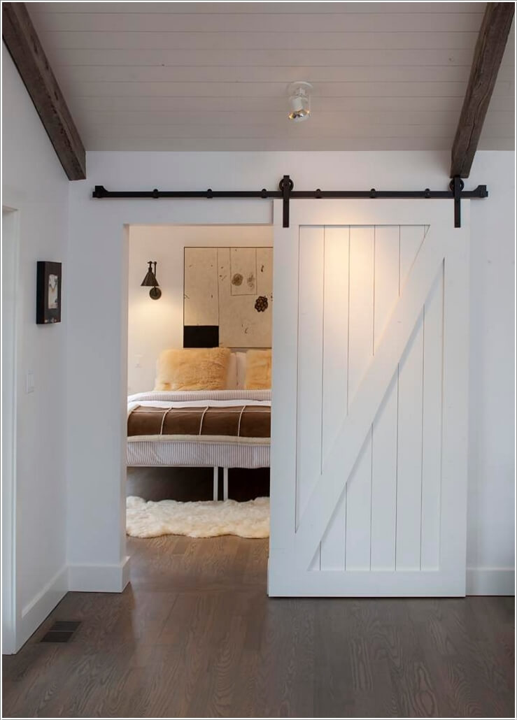 10 Awesome Ways to Decorate Your Home with Barn Doors 1