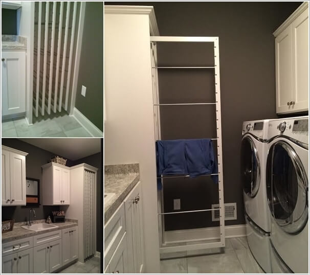 10 Clever Clothes Hanging Solutions for Your Laundry Room 10