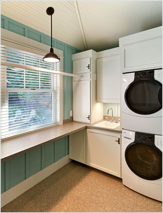 10 Clever Clothes Hanging Solutions for Your Laundry Room 4