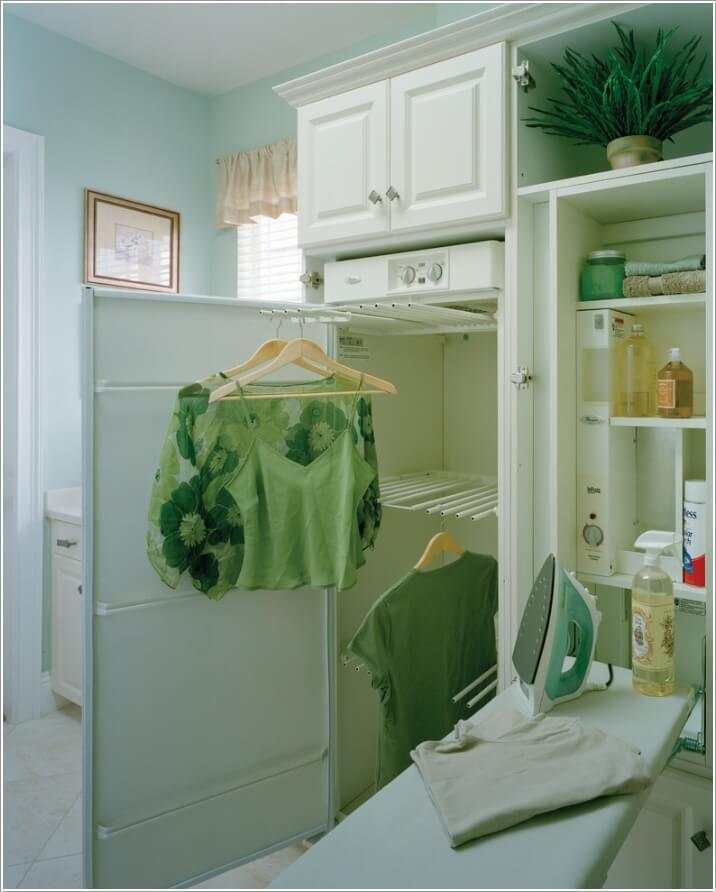 10 Clever Clothes Hanging Solutions for Your Laundry Room 8