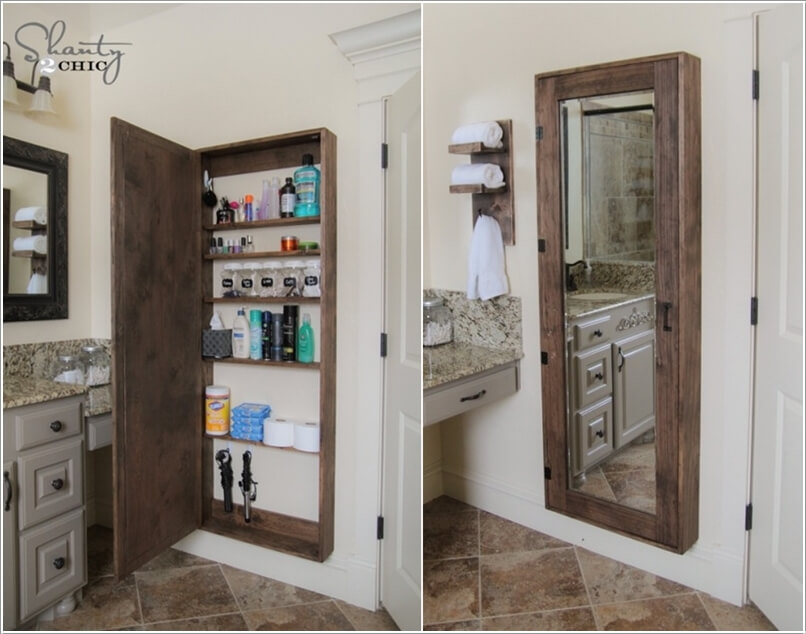 10 Clever Ways to Store More In Your Bathroom 2