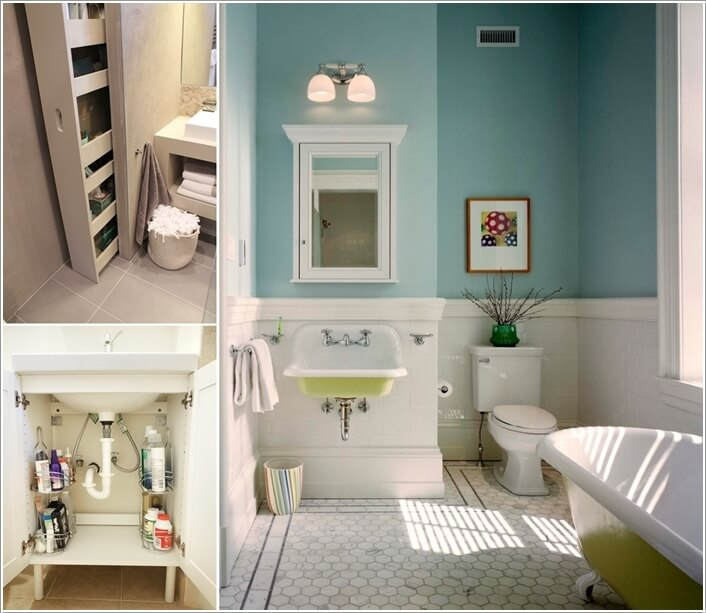 10 Clever Ways to Store More In Your Bathroom a