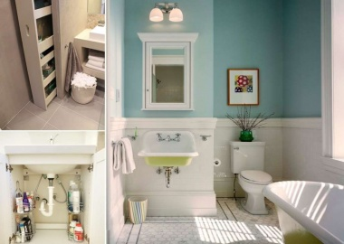10 Clever Ways to Store More In Your Bathroom fi