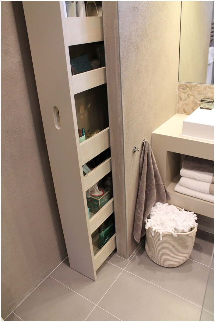 10 Clever Ways to Store More In Your Bathroom 3