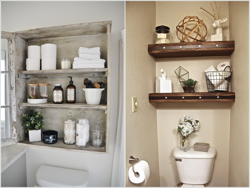10 clever ways to store more in your bathroom for Badezimmerregal weiay