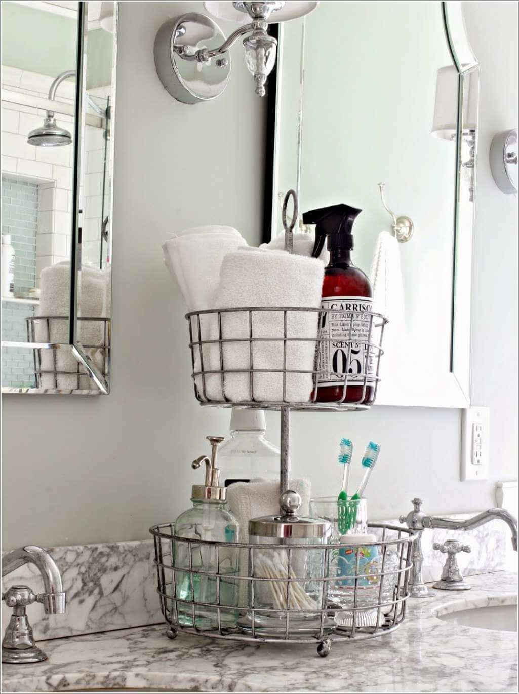 10 Clever Ways to Store More In Your Bathroom 6