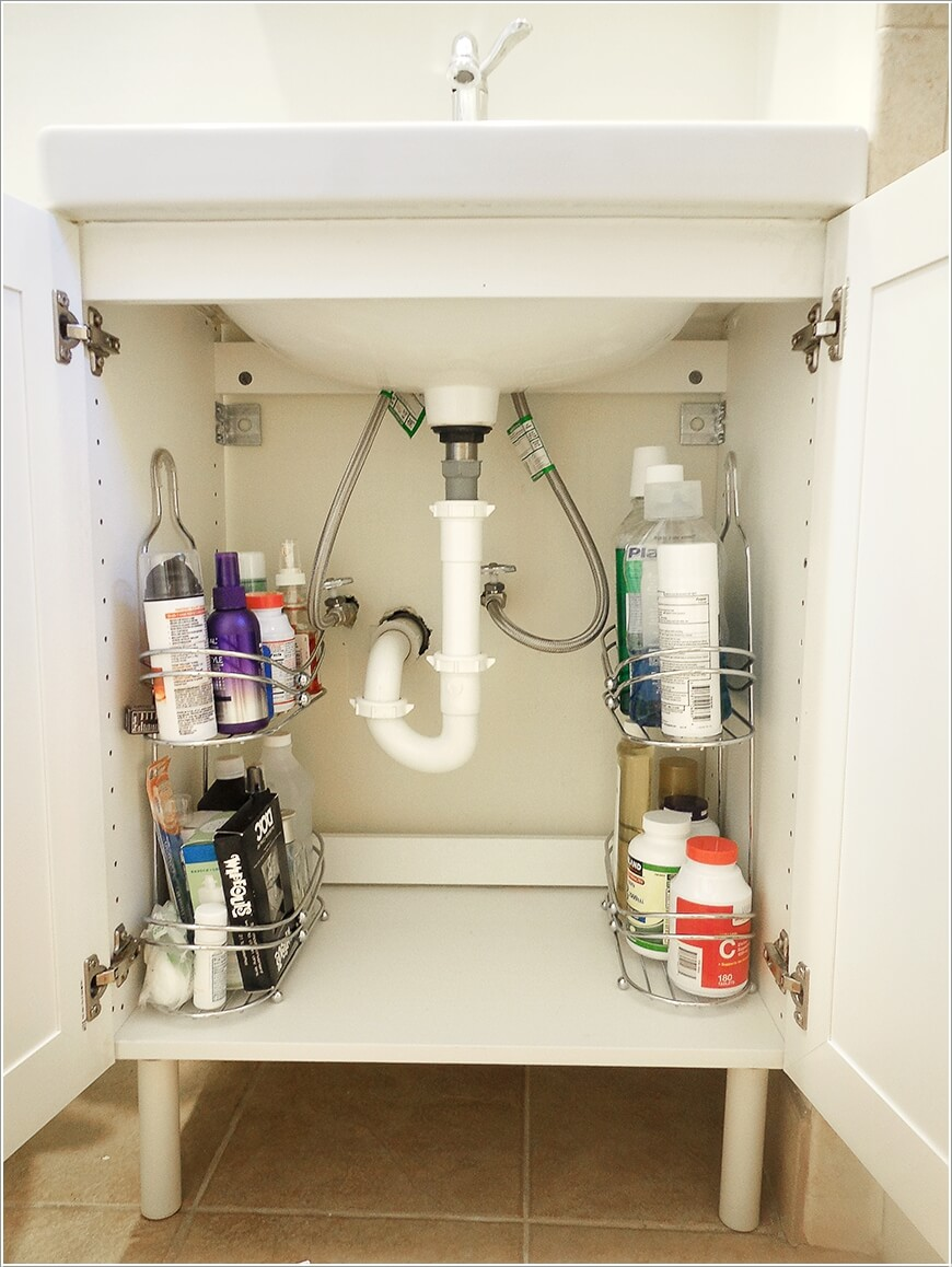 10 Clever Ways to Store More In Your Bathroom 7