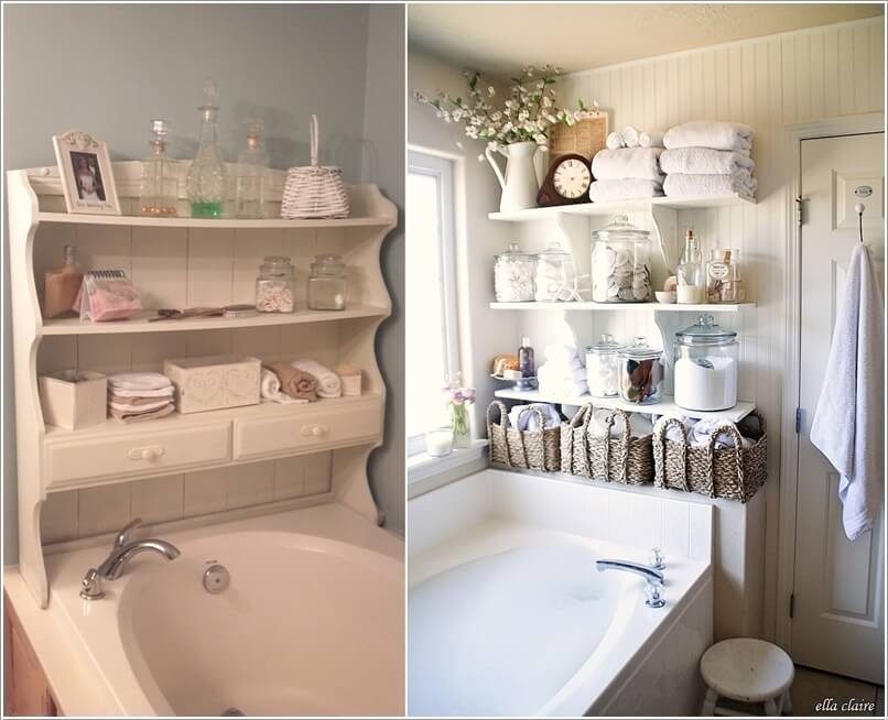 10 Clever Ways to Store More In Your Bathroom 10