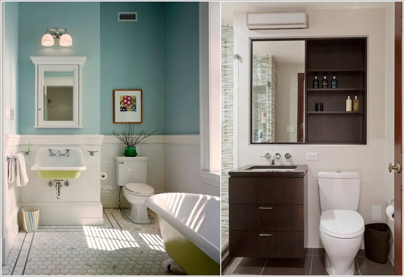 10 Clever Ways to Store More In Your Bathroom 1