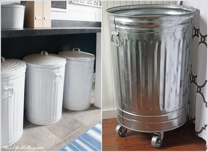 10 Cool Clothes Hamper Ideas for Your Laundry Room 2