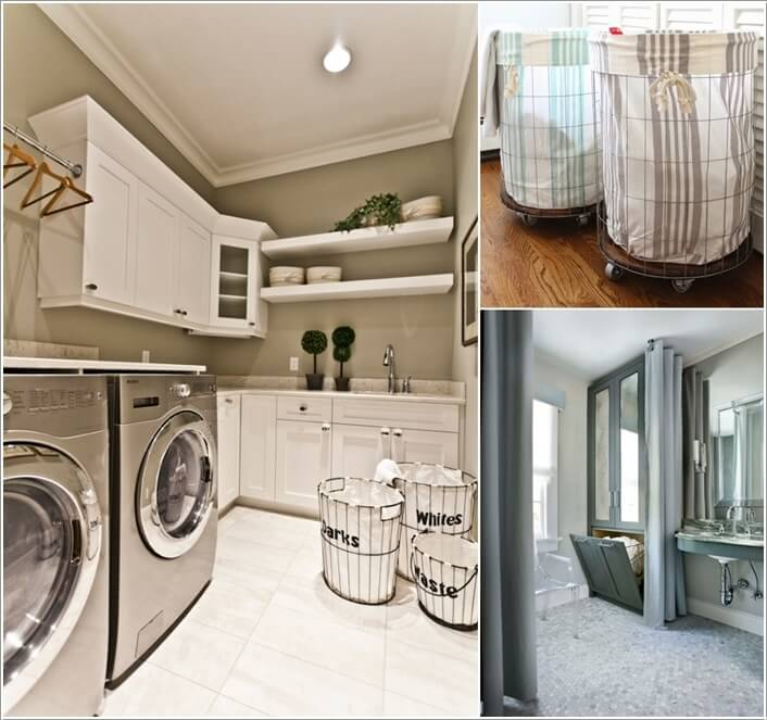 10 Cool Clothes Hamper Ideas for Your Laundry Room a