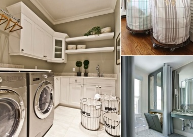 10 Cool Clothes Hamper Ideas for Your Laundry Room fi