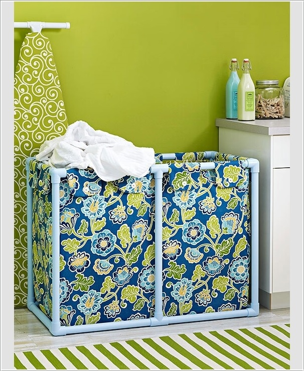 10 Cool Clothes Hamper Ideas for Your Laundry Room 3