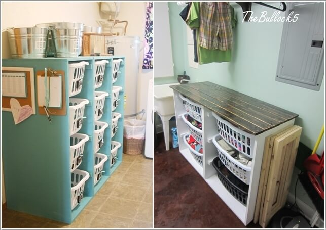 10 Cool Clothes Hamper Ideas for Your Laundry Room 5