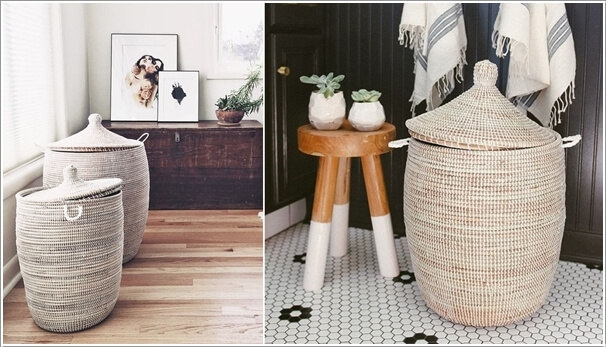 10 Cool Clothes Hamper Ideas for Your Laundry Room 7