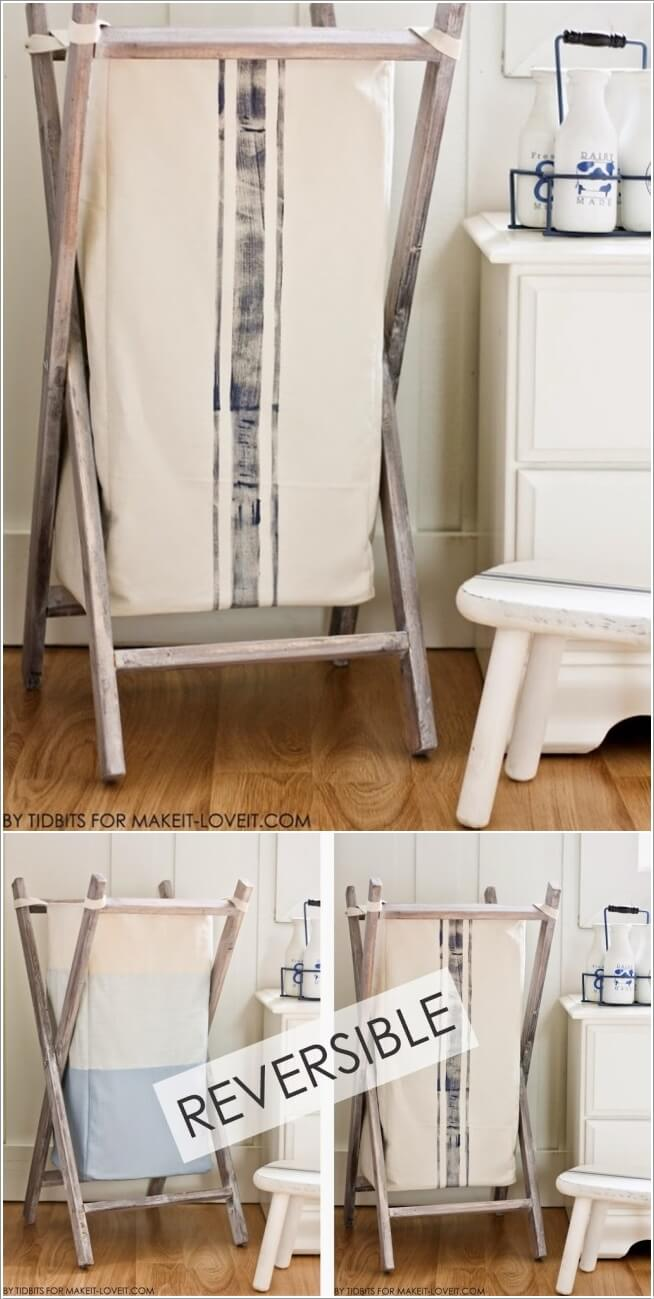 10 Cool Clothes Hamper Ideas for Your Laundry Room 9