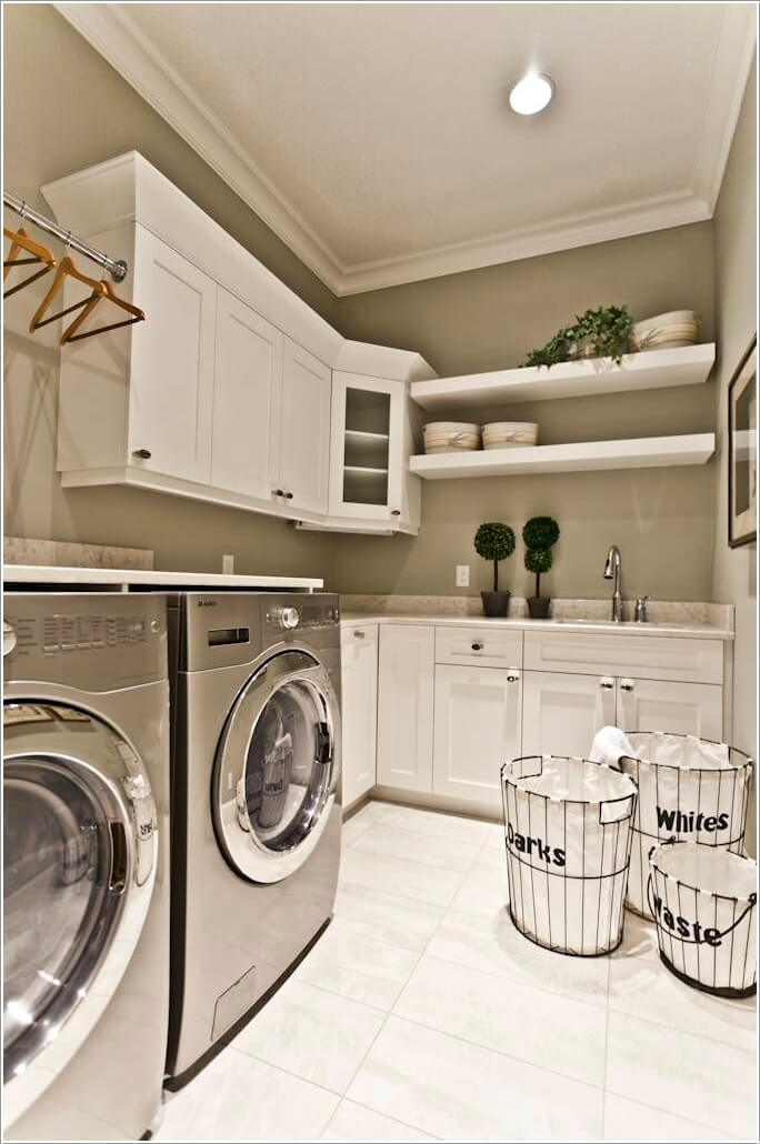 10 Cool Clothes Hamper Ideas for Your Laundry Room 1