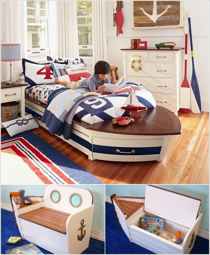 10 Cool Nautical Kids' Bedroom Decorating Ideas 6
