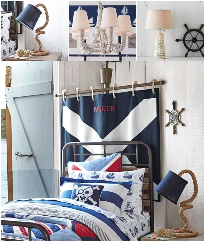 10 Cool Nautical Kids' Bedroom Decorating Ideas 7