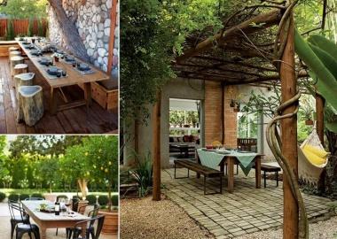 10 Cool Outdoor Dining Room Floor Ideas fi