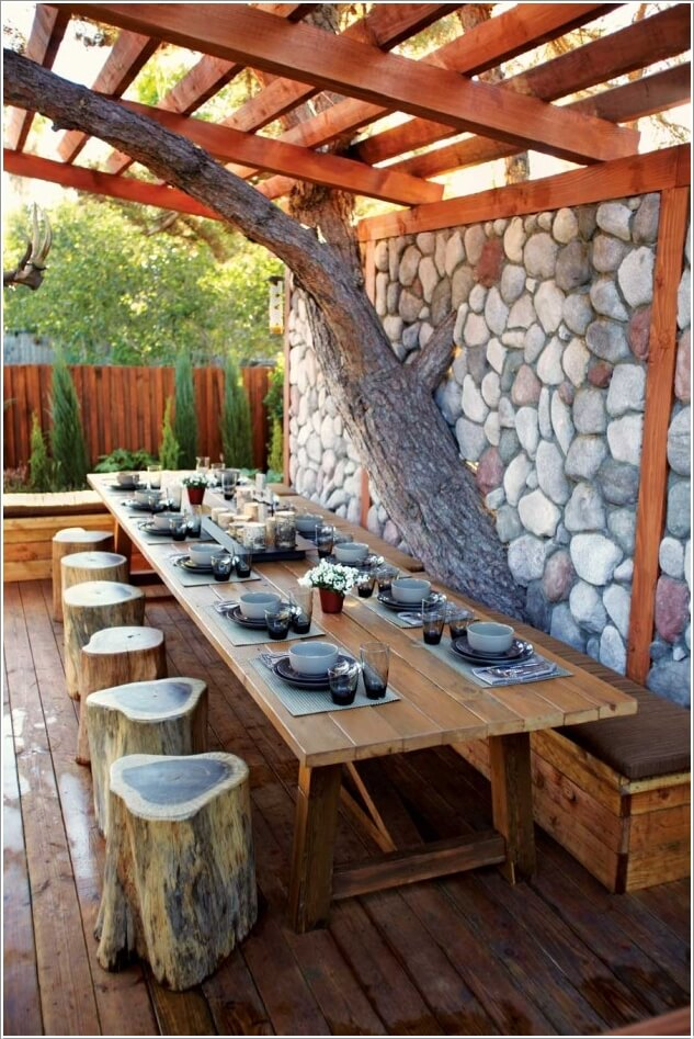 Amazing Interior Design 10 Cool Outdoor Dining Room Floor Ideas