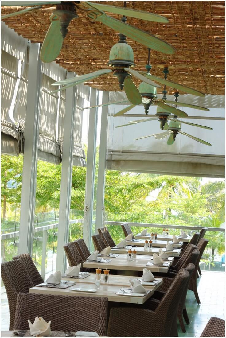 10 Cool Outdoor Dining Room Floor Ideas 5