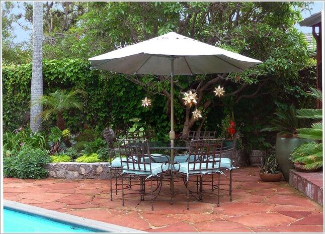 10 Cool Outdoor Dining Room Floor Ideas 6