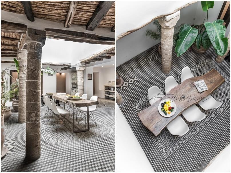 10 Cool Outdoor Dining Room Floor Ideas 9