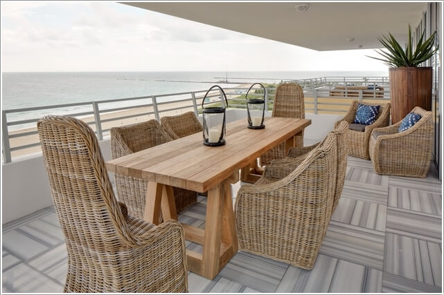 10 Cool Outdoor Dining Room Floor Ideas 10